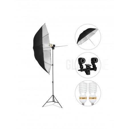 GlareOne Zestaw Oświetlenia Ciągłego SUNNY SILVER-1250