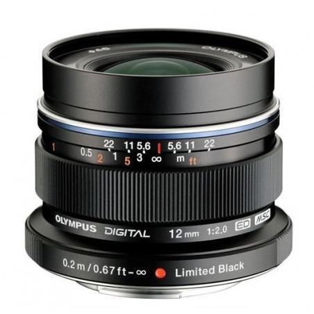 Obiektyw Olympus M.ZUIKO ED12mm1:2.0 czarny