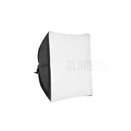 GlareOne Softbox światła ciągłego 60x60cm na 1 świetlówkę