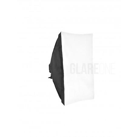GlareOne Softbox światła ciągłego 60x90cm na 4 świetlówki