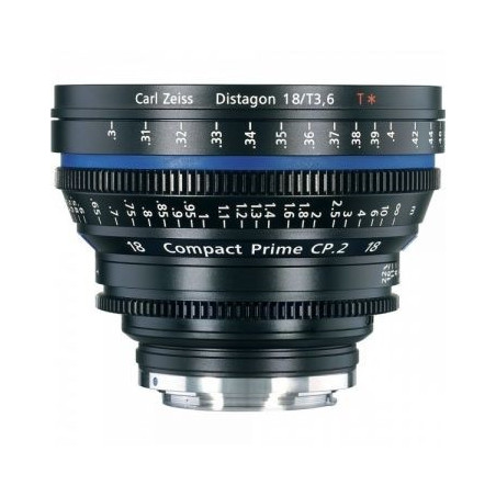 Zeiss Compact Prime CP.2 3.6/18 T (moc. EF)