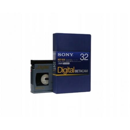 Kaseta Sony BCT-D32 DIGITAL BETACAM