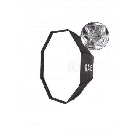GlareOne Softbox oktagonalny Easy Fold 95cm - mocowanie bowens