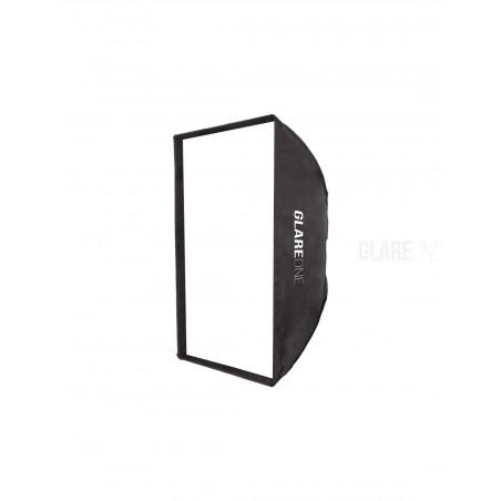 GlareOne Softbox prostokątny Strappo 60x90cm - mocowanie bowens