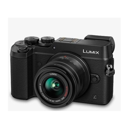 PANASONIC LUMIX DMC-GX8 CZARNY + 14-42MM