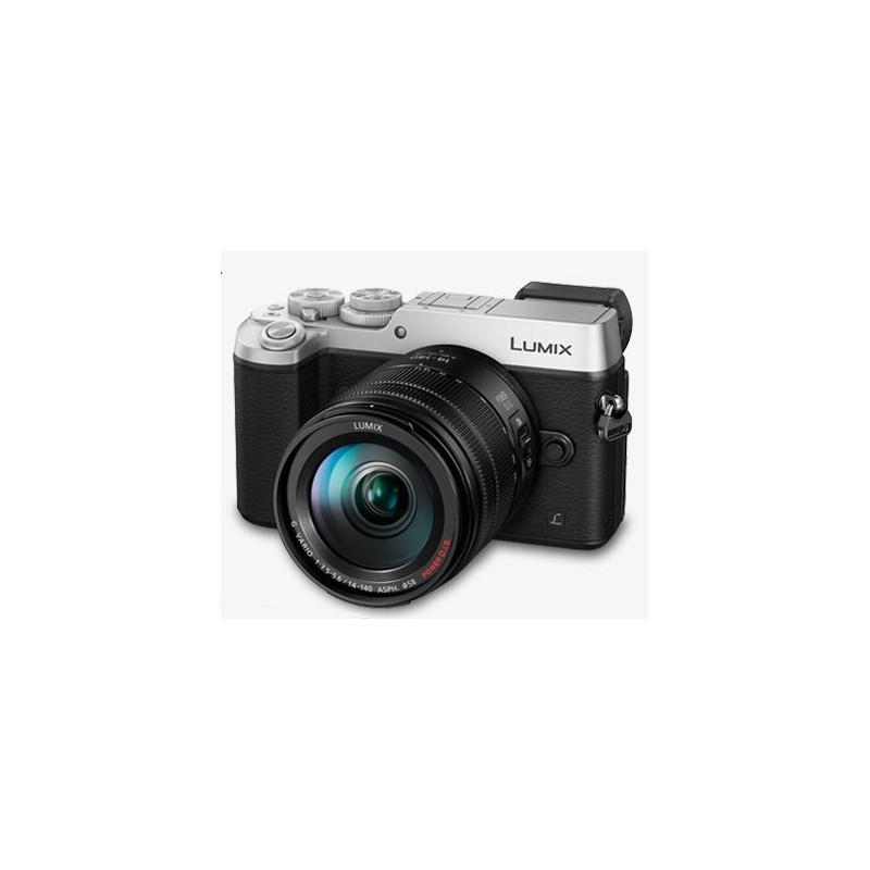Aparat Panasonic DMC-GX8HEG-S 14-140 srebrny