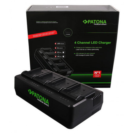 Patona ładowarka 4 kanałowa do akumulatorów Sony BP-U