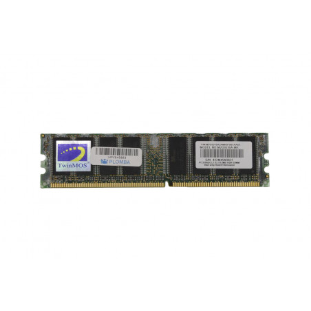 Pamięć RAM TwinMOS 512MB DDR1 400MHz - M2G9J16A-MK