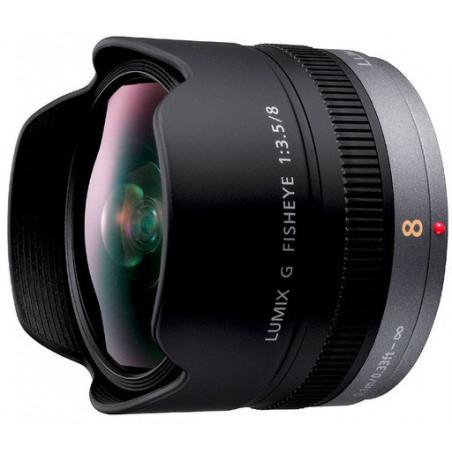 Panasonic LUMIX G 8mm f/3.5 Fisheye (H-F008E)