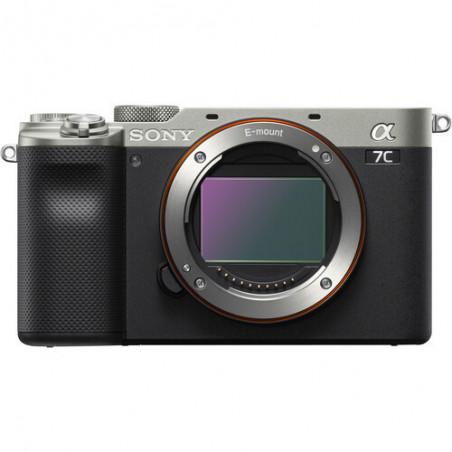 Sony A7C (ILCE-7CS) (srebrny) | Lens CASHBACK 450zł