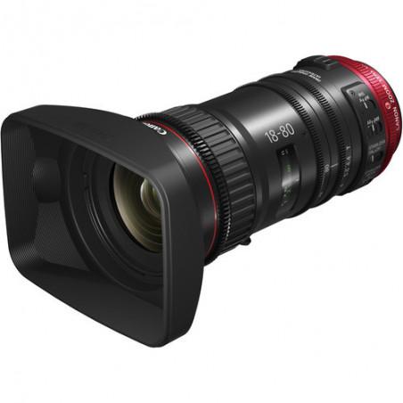 Canon CN-E 18-80mm T4.4 L + grip ZSG-C10