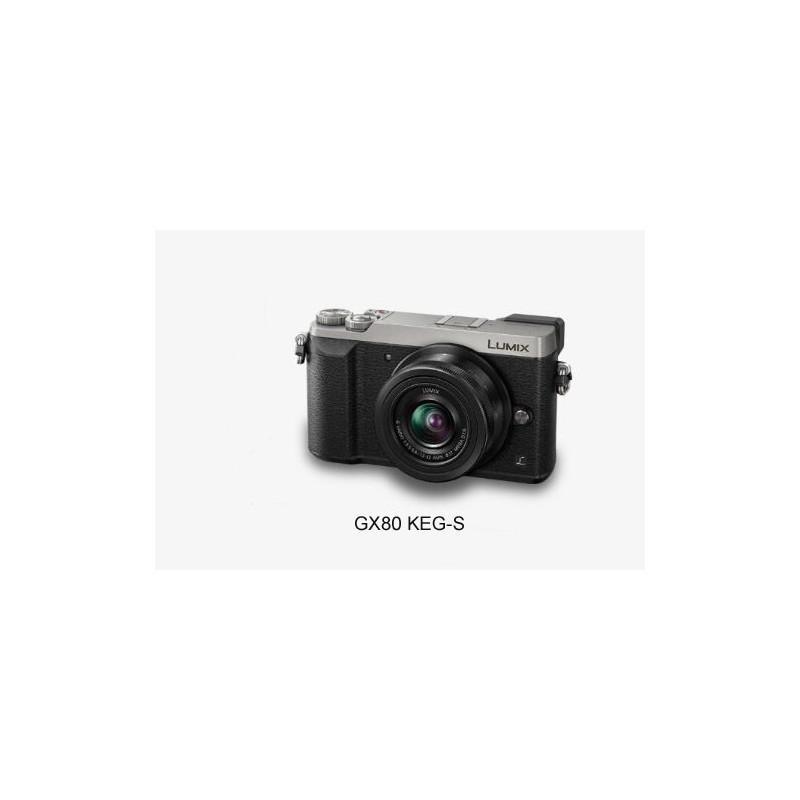 Aparat Panasonic DMC-GX80KEG-S 12-32 srebrny