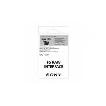 CBKZ-FS5RIF licencja RAW 4K/2K do PXW-FS5