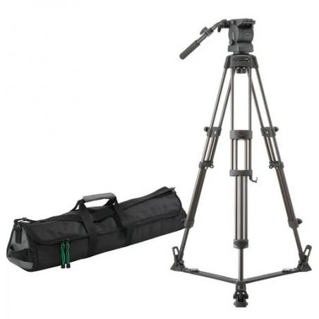 Libec RS-350D statyw wideo z głowicą do 9kg rozpórka dolna