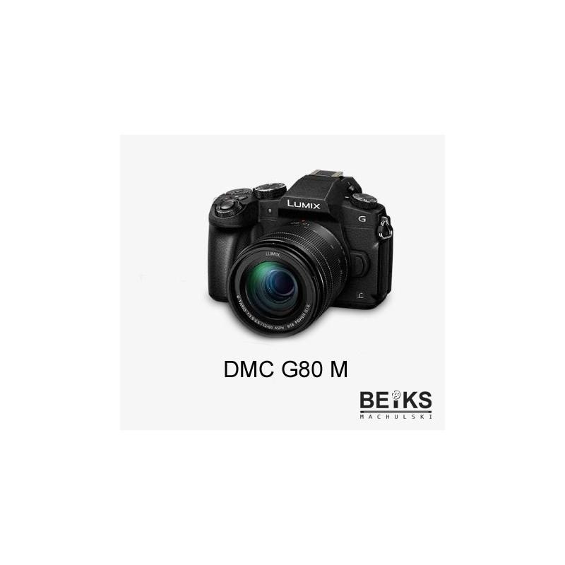 Aparat Panasonic DMC G80M z 12-60mm + 64GB LEXAR PROFESSIONAL 677X SDXC UHS-I U3 (V30) R100/W90 za 1zł + Cashback 200zł