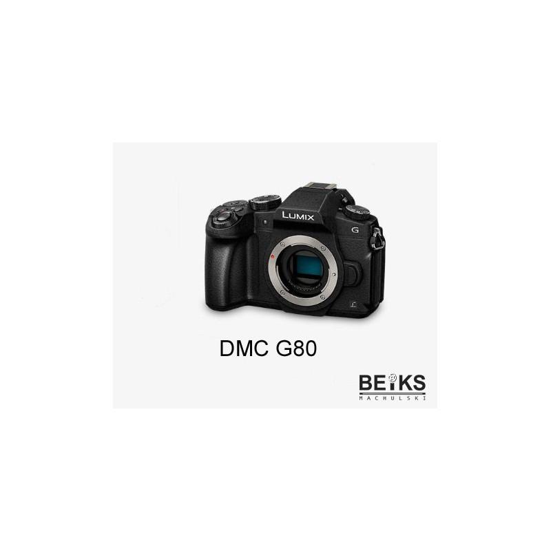 Aparat Panasonic DMC-G80 EG-K (body) + 64GB LEXAR PROFESSIONAL 1000X SDHC UHS-II U3 za 1zl