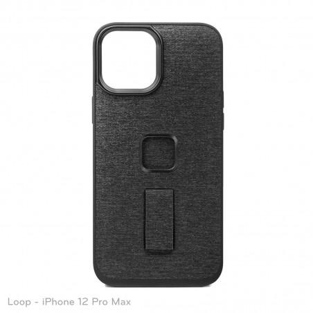 Peak Design Mobile Etui Everyday Case Loop iPhone 12 Pro Max - Grafitowe