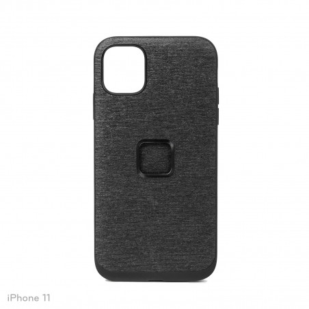 Peak Design Mobile Etui Everyday Case Fabric iPhone 11 - Grafitowe