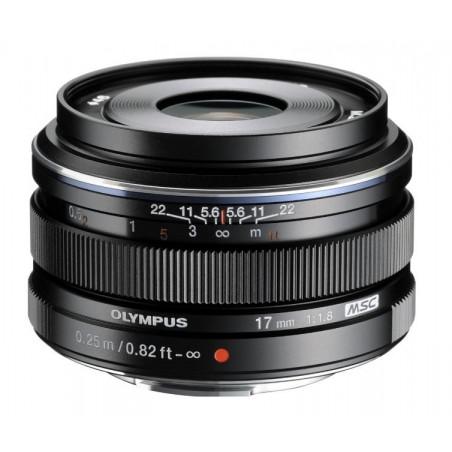 Obiektyw Olympus DIGITAL 17mm 1:1.8 czarny