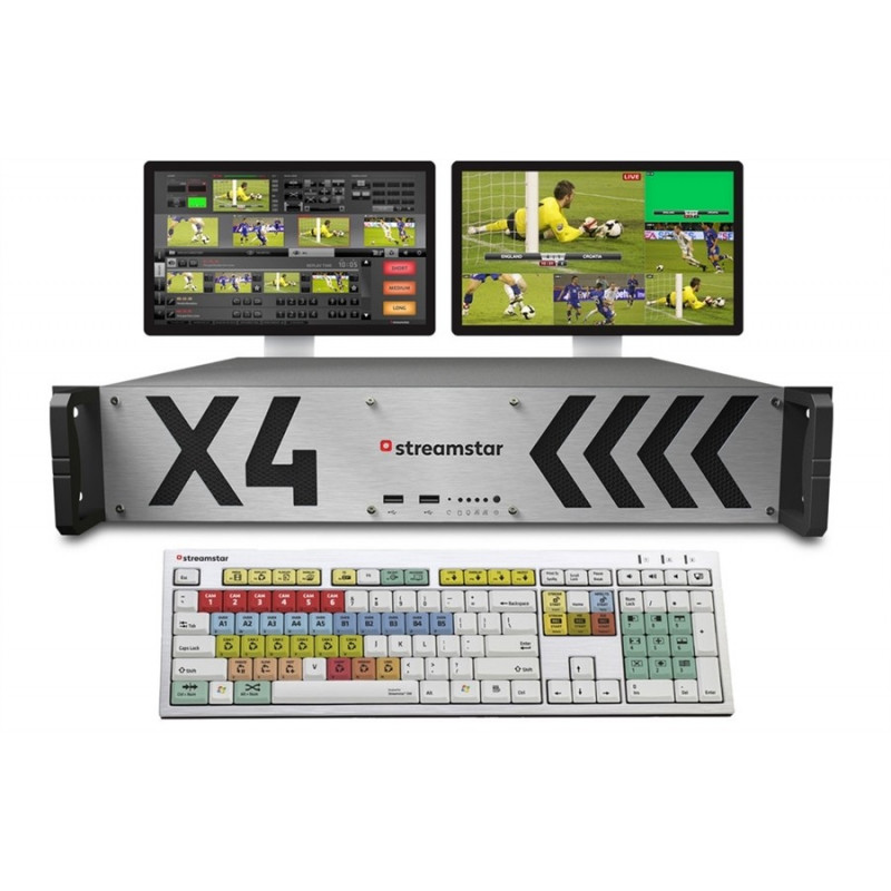 Streamstar X4 Live production oraz streaming
