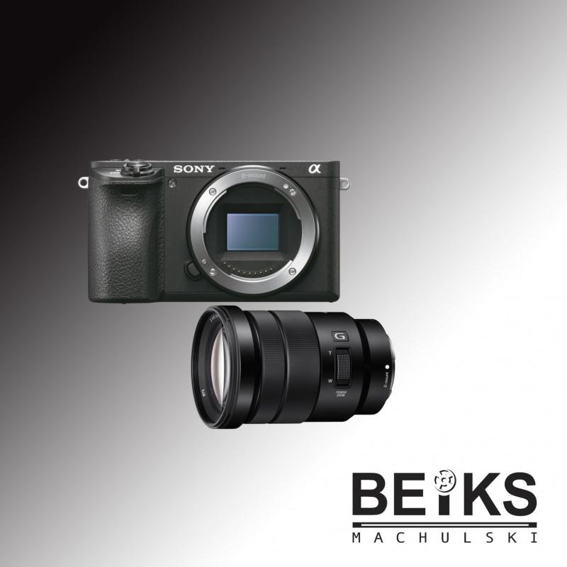 Aparat Sony ILCE-A6500 + SELP18-105G(zestaw)