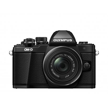 Aparat Olympus OM-D E-M10 Mark II + EZ14-42EZ czarny