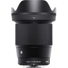 Obiektyw Sigma 16mmF1,4 mocowanie Sony E