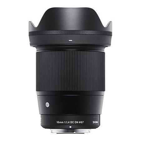 Obiektyw Sigma 16mm F1,4 mocowanie Sony E + Pendrive LEXAR 32GB WRC za 1zł + 5 lat rozszerzonej gwarancji