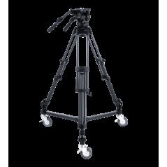 Libec LX10 Studio - zestaw statyw RT50B z głowicą i wózkiem