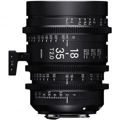 SIGMA Obiektyw CINE 18-35mm T2.0 PL Metric