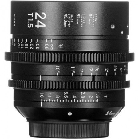 Sigma 24mm T 1.5 FF High-Speed Prime + Pendrive LEXAR 32GB WRC za 1zł