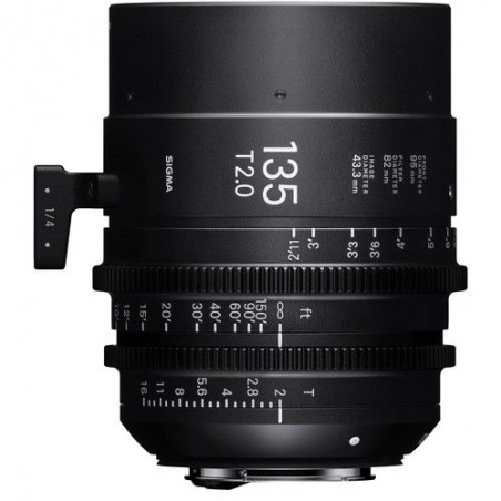 Sigma 135mm T2 FF High-Speed Prime + Pendrive LEXAR 32GB WRC za 1zł
