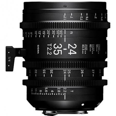 Sigma 24-35mm T2.2 FF Zoom Line
