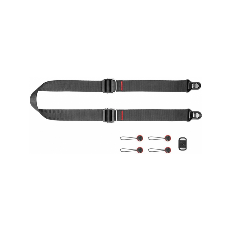 Peak Design Pasek na szyję lub ramię SLIDE LITE v3 czarny do lekkich aparatów