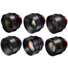Zestaw obiektywów Canon EF PRIMES BUNDLE 14/24/35/50/85/135M