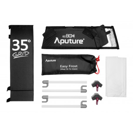 Softbox Aputure EZ BOX+ Grid do lamp Amaran