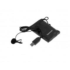 Mikrofon krawatowy Saramonic SR-ULM5 ze złączem USB
