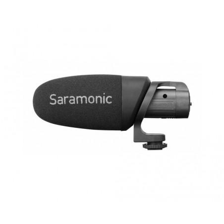 Mikrofon pojemnościowy Saramonic CamMic+ do aparatów, kamer i smartfonów