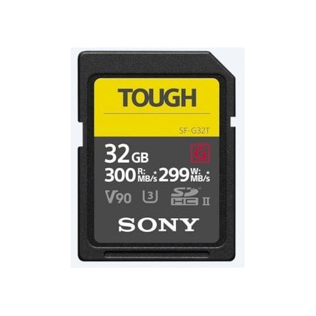 Sony SF-G TOUGH 32 GB UHS-II U3 V90 300MB/s