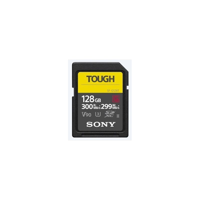 Sony SF-G TOUGH 128 GB UHS-II U3 V90 300MB/s SERIES (T)
