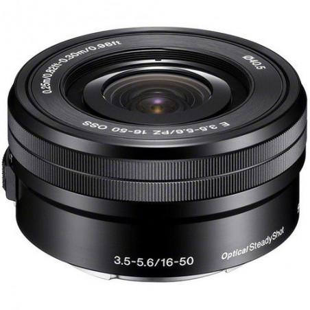 Obiektyw Sony E 16-50mm f/3.5-5.6 OSS PZ (SELP1650)