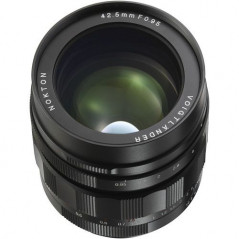 VOIGTLANDER 42.5mm F/0.95 MFT NOKTON (Micro 4/3)