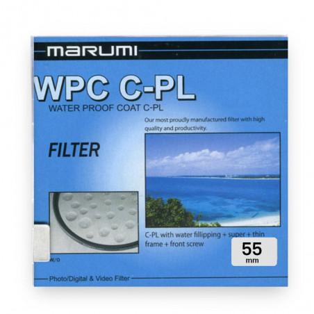 Filtr Marumi WPC Filtr fotograficzny Circular PL 55 mm