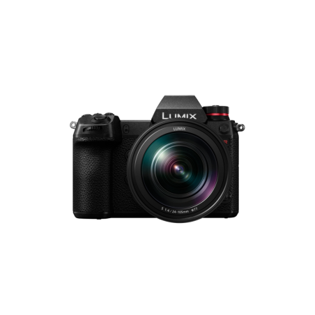 Bezlusterkowy aparat cyfrowy Panasonic DSLM LUMIX DC-S1R+24-105/4 (S1RM)