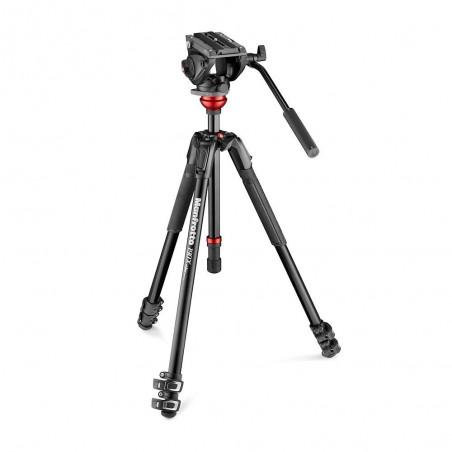 Manfrotto MVK500190XV - Zestaw wideo głowica 500 i statyw 190X