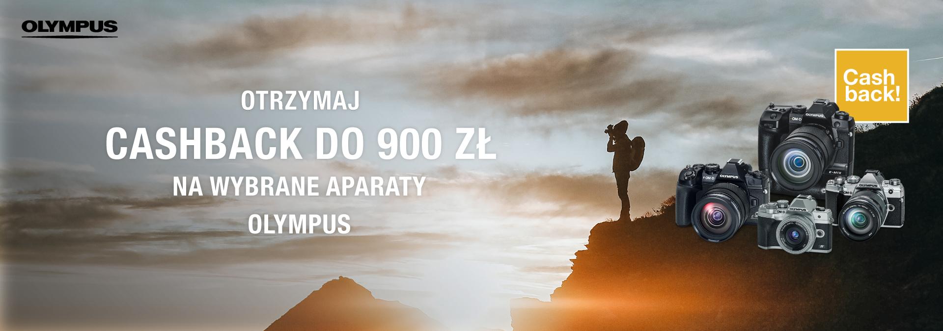 OLYMPUS CASHBACK DO 900ZŁ