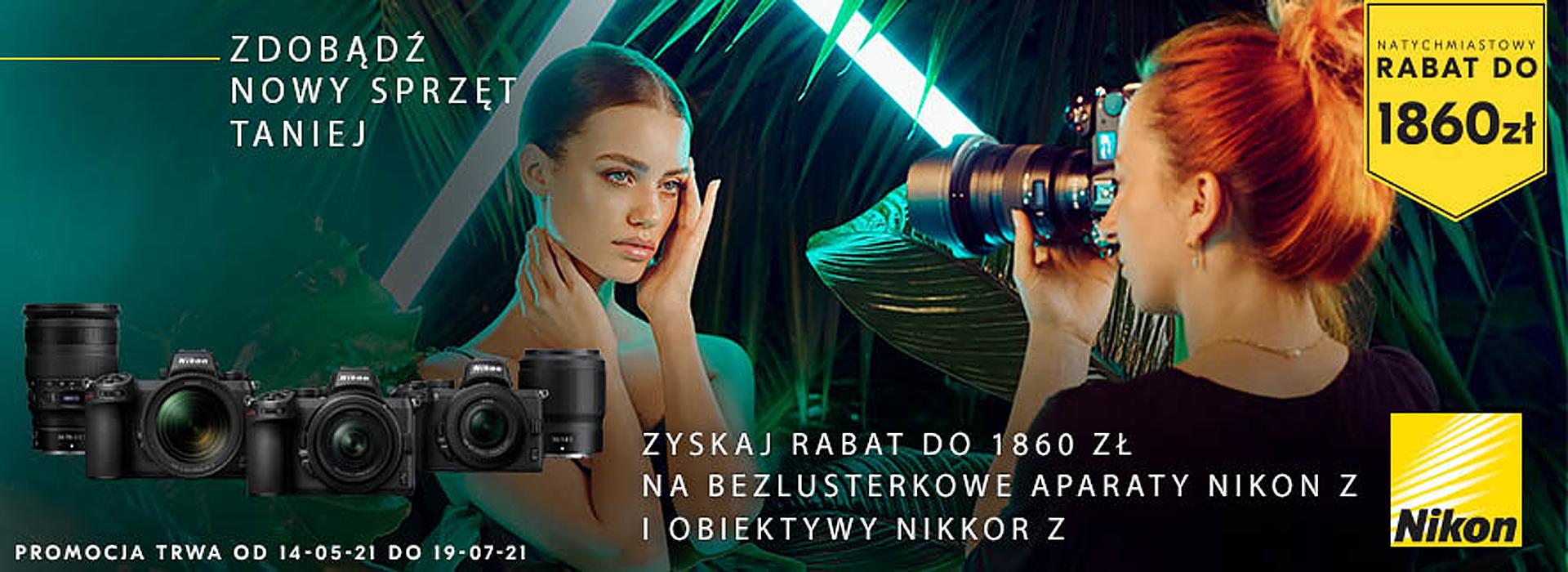 Nikon Natychmiastowy Rabat Nawet Do 1860zł