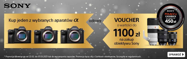 Kup aparat serii A7 lub A9 i odbierz voucher na zakup obiektywu Sony