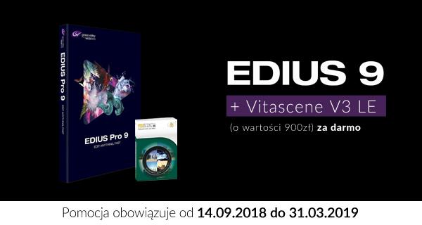 Flagowy Edius 9 Pro